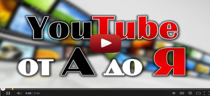 YouTube от А до Я